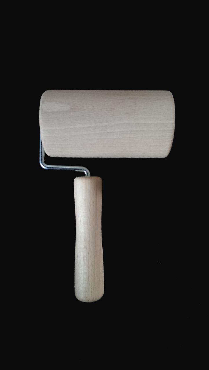 Скалка деревянная механическая 18*10 см опт