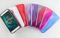 Силиконовый чехол Duotone для Motorola Moto G4 Play (8 цветов)