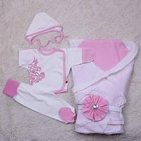 """Летний набор для новорожденных """"Турин"""" (розовый)"""