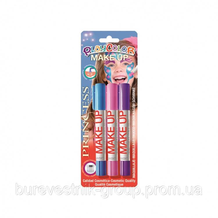 """Краски для лица INSTANT PlayColor """"MakeUp Princess"""" 3цв."""