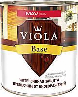 Состав VIOLA Base HT грунтовочный для наружной защиты древесины