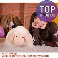 Овечка (игрушка-подушка) розовая
