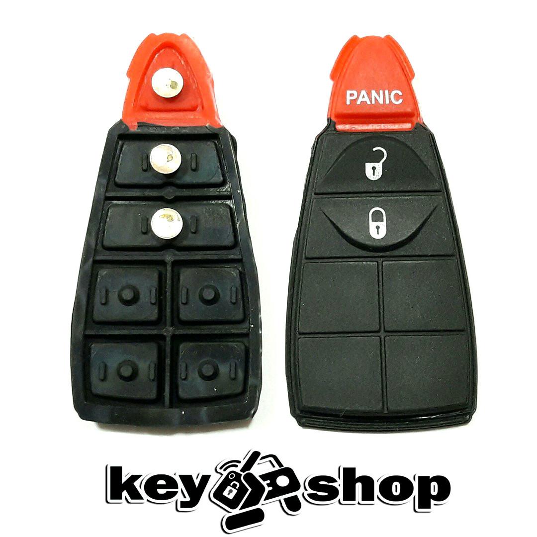 Кнопки для смарт ключа Chrysler (Крайслер) 2 кнопки + 1 (panic)