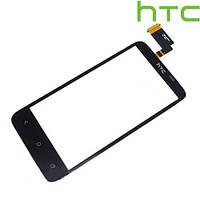 Сенсорный экран (touchscreen) для HTC T328d Desire VC, черный, оригинал