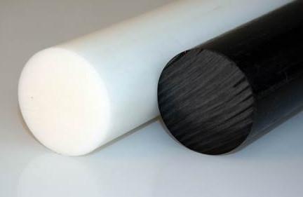 Полиацеталь пруток белый д.10мм-220мм