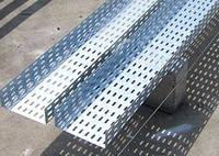 Перфорированный лоток для кабеля 50/50мм