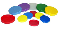 Крышка капроновая для банок цветная (200шт)