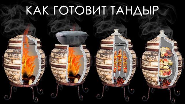 Как готовит тандыр