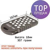 Портативный аккумулятор UKC Solar Led 28000 mAh / Переносной аккумулятор для телефона Power Bank