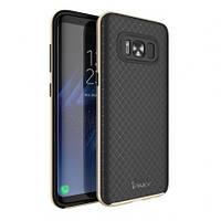 Чехол - бампер iPaky (Original) для Samsung G955 Galaxy S8 Plus - золотой