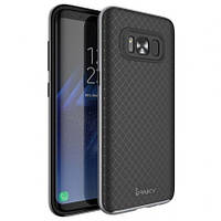 Чехол - бампер iPaky (Original) для Samsung G955 Galaxy S8 Plus - серый