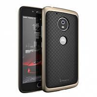 Чехол - бампер iPaky (Original) для Motorola Moto G5 Plus - золотой