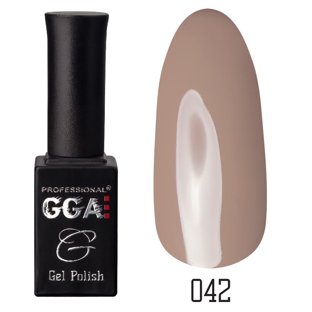 Гель-лак GGA Professional №42 Khaki 10 мл.