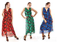 Платье KH-2265 с хомутом (разные цвета), фото 1