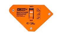 Магнитный угольник для сварки Дніпро-М МКВ-1013 ( с включением)