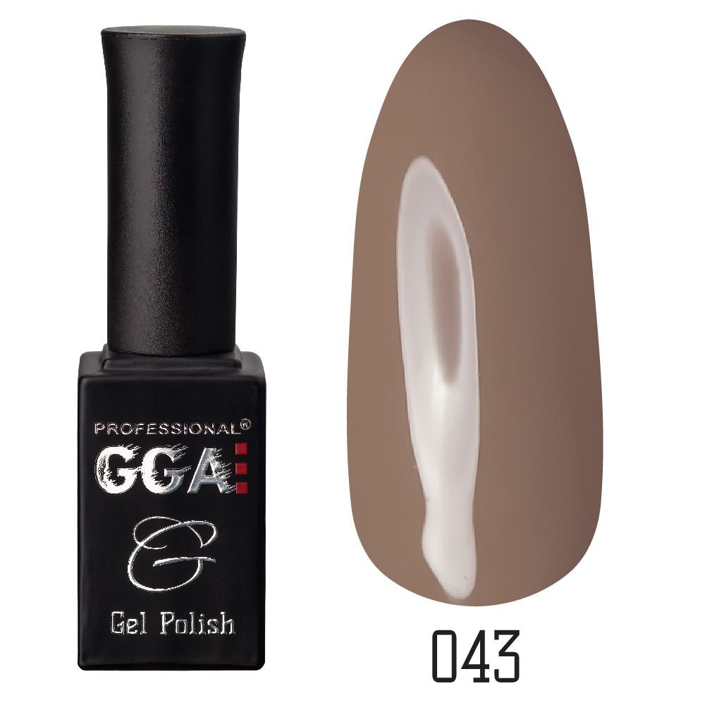 Гель-лак GGA Professional №43 Chamoisee 10 мл.