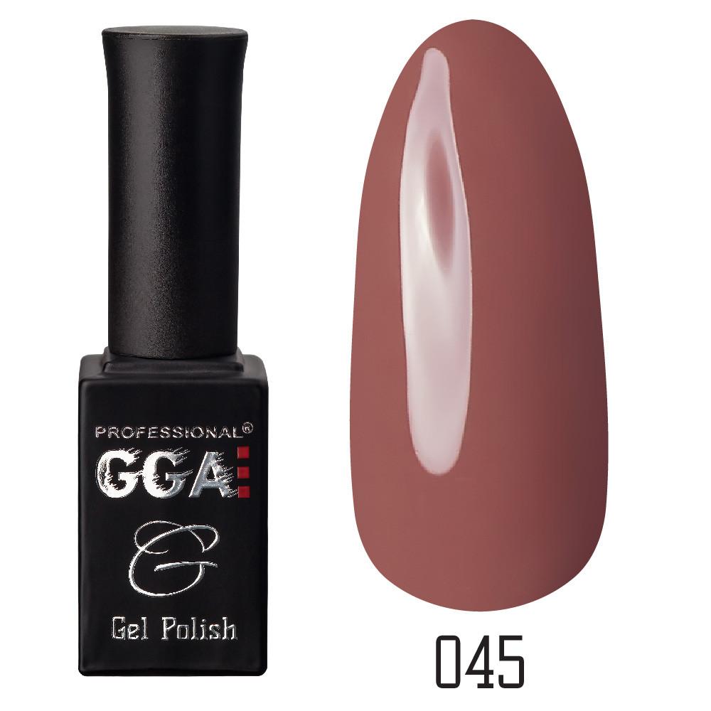 Гель-лак GGA Professional №45 Russet 10 мл.