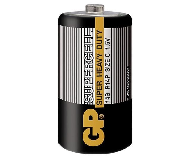 Батарейки C R14 (Cредние - Солевые)
