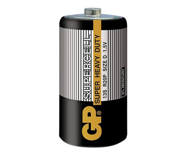 Батарейки D R20 (Большие - Солевые)
