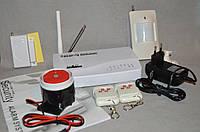 Комплект беспроводной GSM сигнализации 10А стандарт