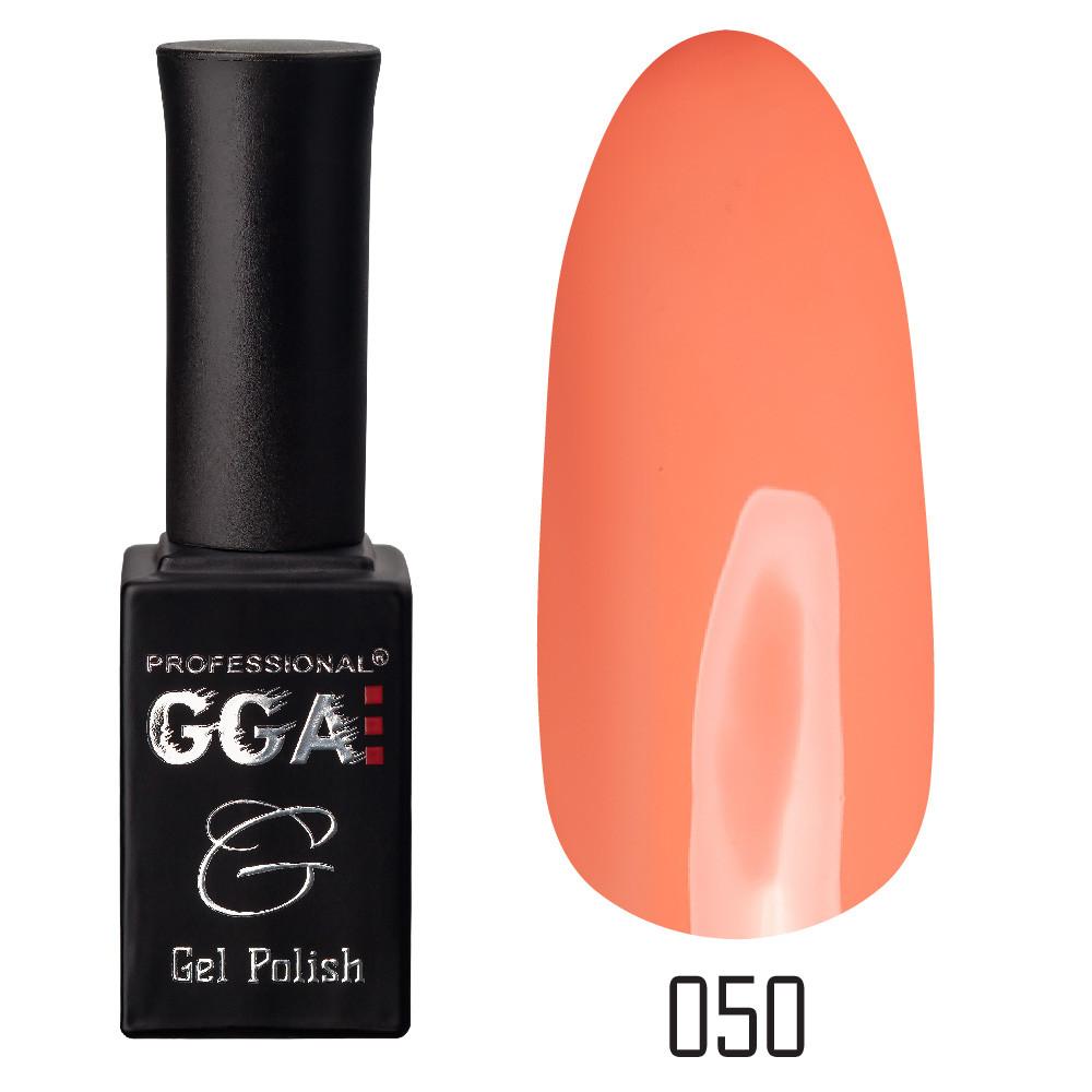 Гель-лак GGA Professional №50 Pink-Orange 10 мл.