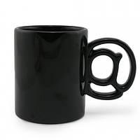 Чашка Собачка (Черная)