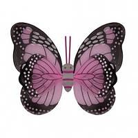 Крылья Бабочки пятнистые (розовые) 42 х 48 см