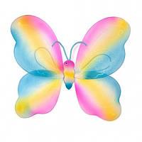 Крылья Бабочки радужные 42 х 44 см