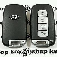 Оригинальный смарт ключ для HYUNDAI Elantra, Sonata, Grandeur (Хундай Елантра) 4 кнопки, с чипом id46, 434MHz