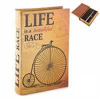 Книга сейф Жизнь в пути 26 см