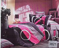 Сатиновое постельное белье семейное ELWAY 3821
