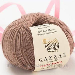 Пряжа Gazzal Baby Wool Коричневый