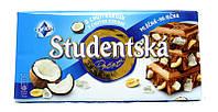Молочный шоколад Studentska с кокосом, 180 г