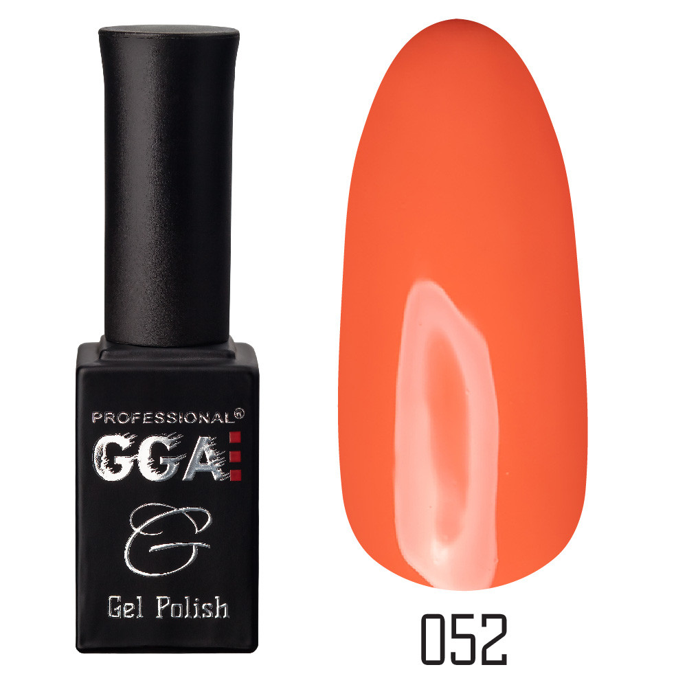 Гель-лак GGA Professional №52 Princeton Orange 10 мл.