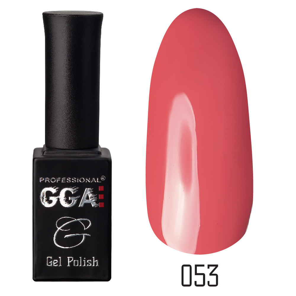 Гель-лак GGA Professional №53 Dark Salmon 10 мл.