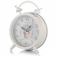 Часы Будильник Лаванда 16 см