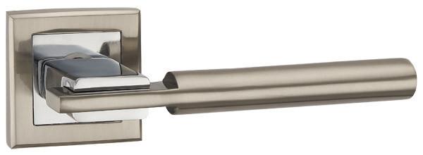 Ручка раздельная CITY QL SN-CP-3 матовый никель/хром
