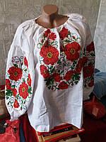 Вышиванка женская полотно домотканое 297 Новинка (Л.Л.Л)