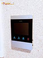 Характеристики видеодомофона Slinex SM-04M Slinex SM-04M-это компактный стильный видеодомофон со встроенной памятью. Для каждой вызывной панели можно установить свою мелодию вызова.