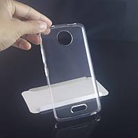 Ультратонкий 0,3 мм чехол для Motorola Moto C прозрачный