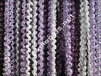 Занавески с нитей - радуга спираль