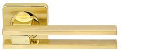 Ручка раздельная BRISTOL SQ006-21-SG/GP-4 матовое золото/золото