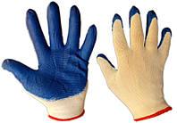 Перчатки стрейч рабочие с нитриловым покрытием (упаковка 12 пар)