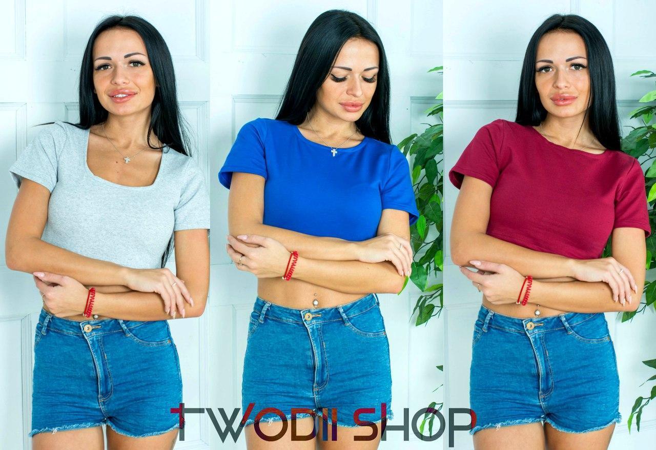 Красивая футболка в расцветках  DH-002.004.016