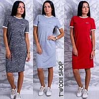 Платье-футболка в расцветках  DH-002.004.019