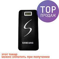 Внешний аккумулятор Samsung Power Bank 30000 mAh, 3 USB + LCD / мини USB зарядное устройство