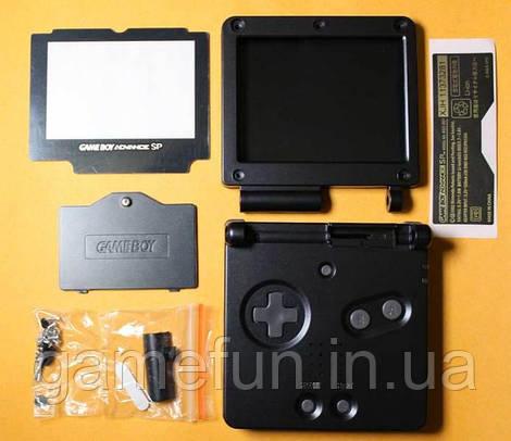 Корпус Game Boy Advance SP (Premium) (Черный)