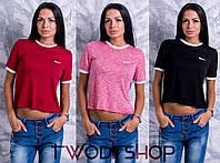 Женская футболка, много расцеток  DH-002.004.012