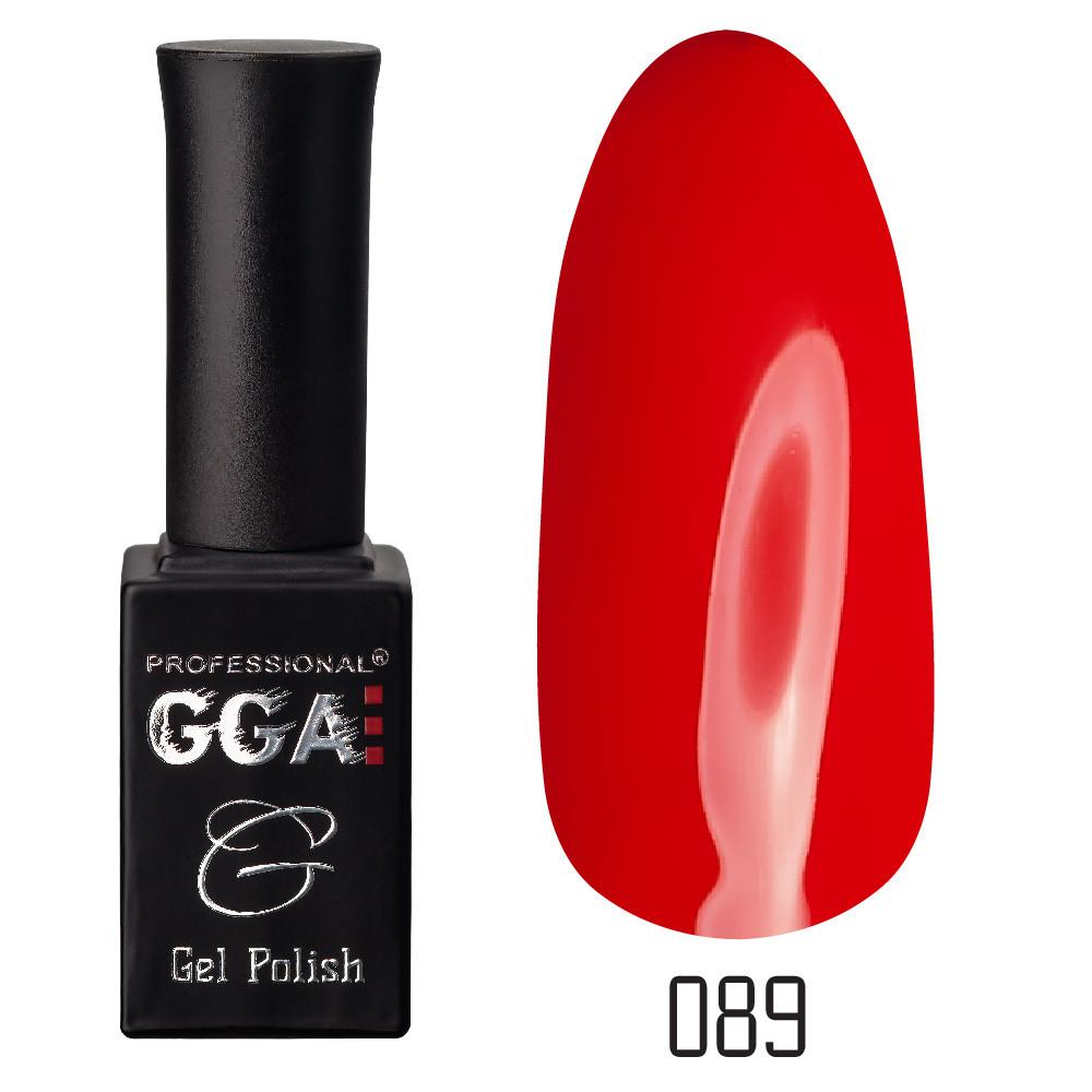 Гель-лак GGA Professional №89 Venetian Red 10 мл.