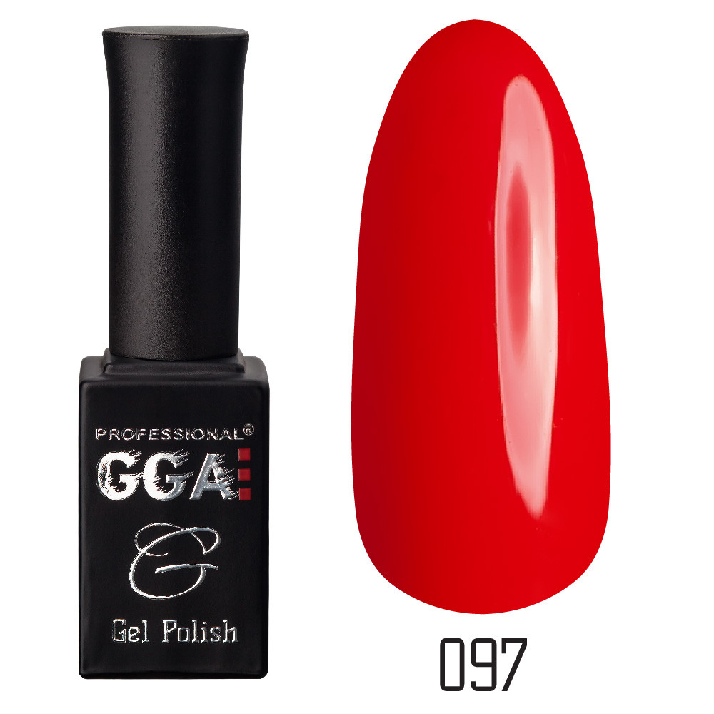 Гель-лак GGA Professional №97 Fire Red 10 мл.